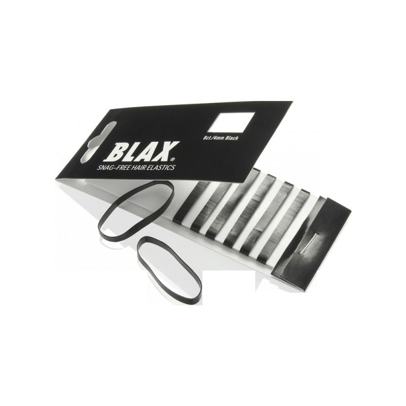 BLAX Haargummi Ohne Metall Schwarz