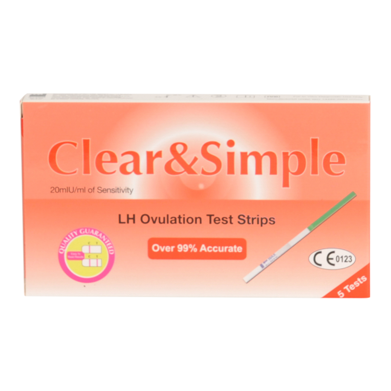 Clear & Simple  5 Ovulation Test Strips
