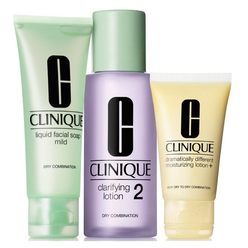 Clinique 3-Step Skin Care System 2 Dry Combination Skin