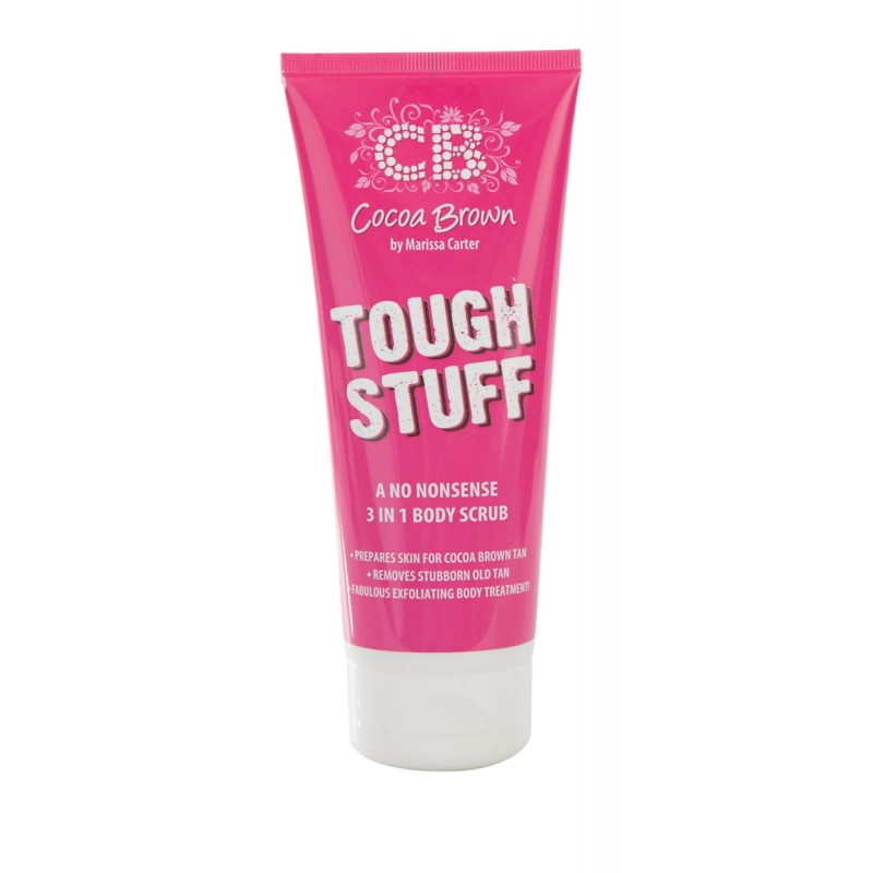 Cocoa Brown Tough Stuff 3 in 1 Bodyscrub