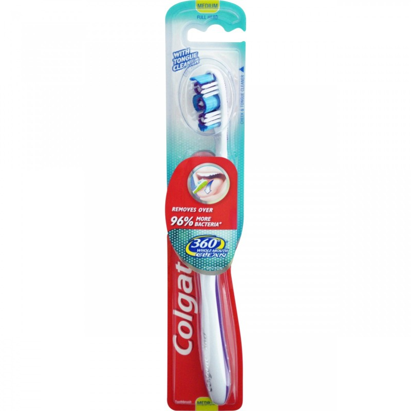 Colgate 360 Degree Tannbørste Medium