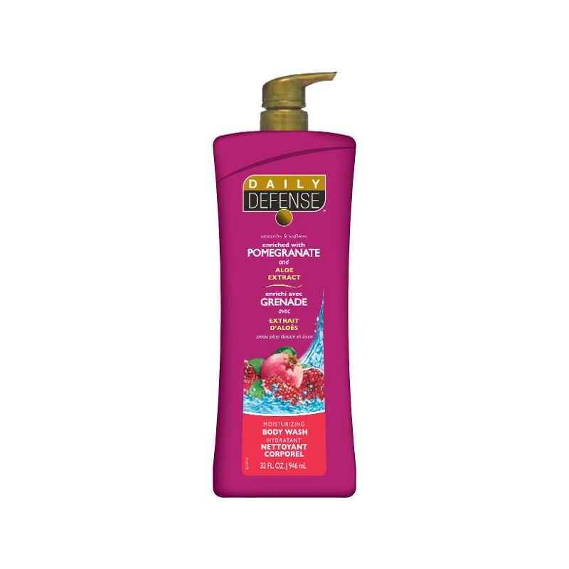 Daily Defense Pomegranate Body Wash