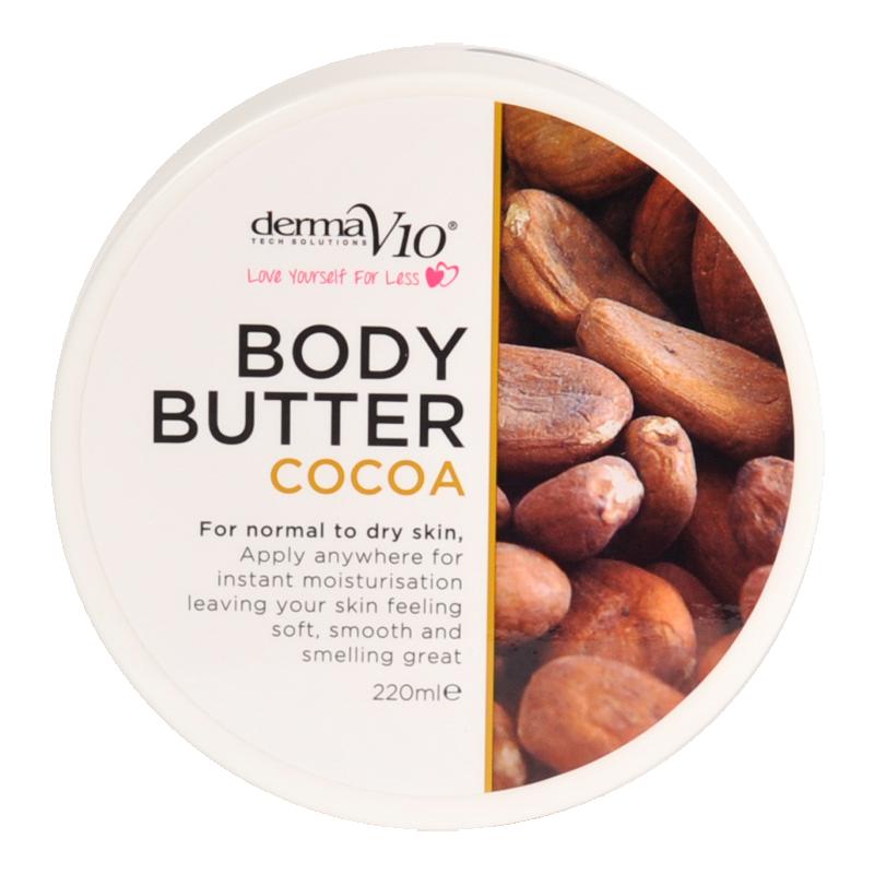 DermaV10 Cocoa Body Butter