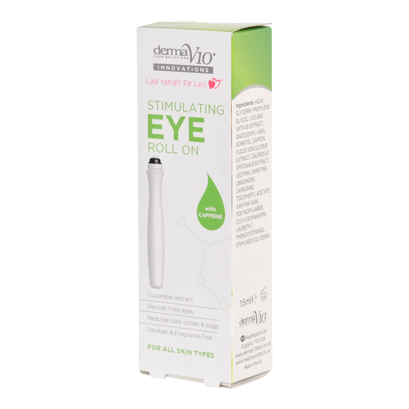 DermaV10 Innovations Caffeine Eye Roll On