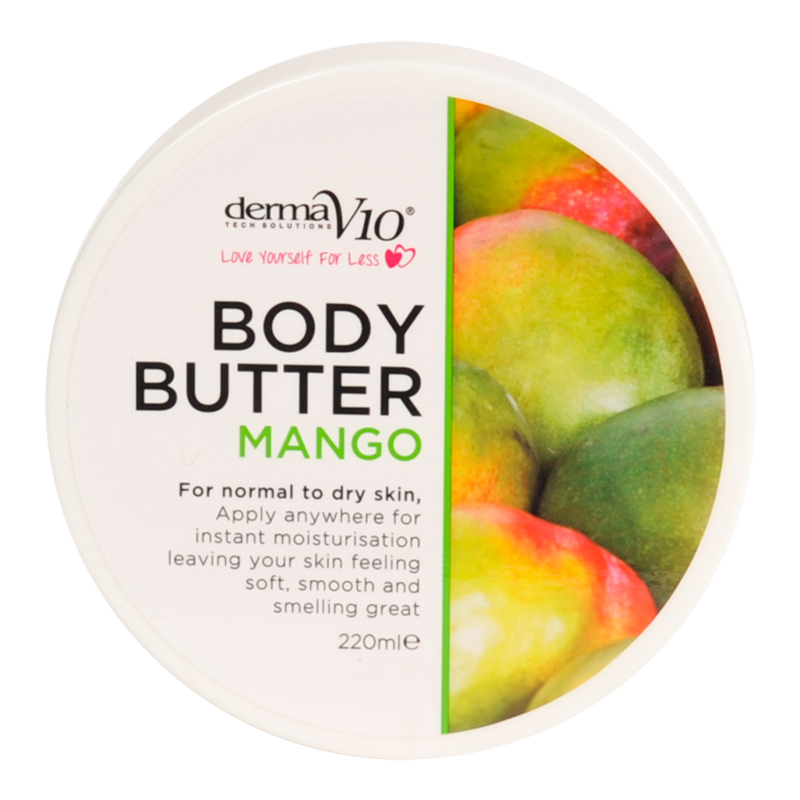 DermaV10 Mango Body Butter