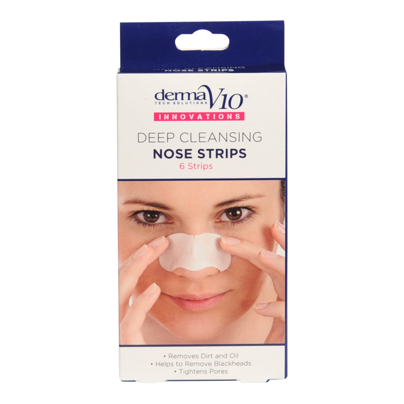 DermaV10 Deep Cleansing Nose Strips