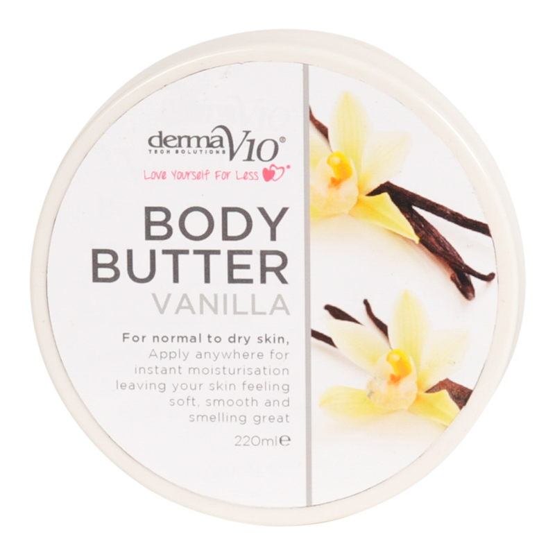 DermaV10 Vanilla Body Butter