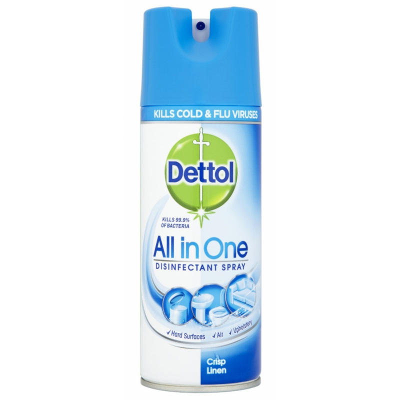 Dettol All in One Disinfectant Spray Linen