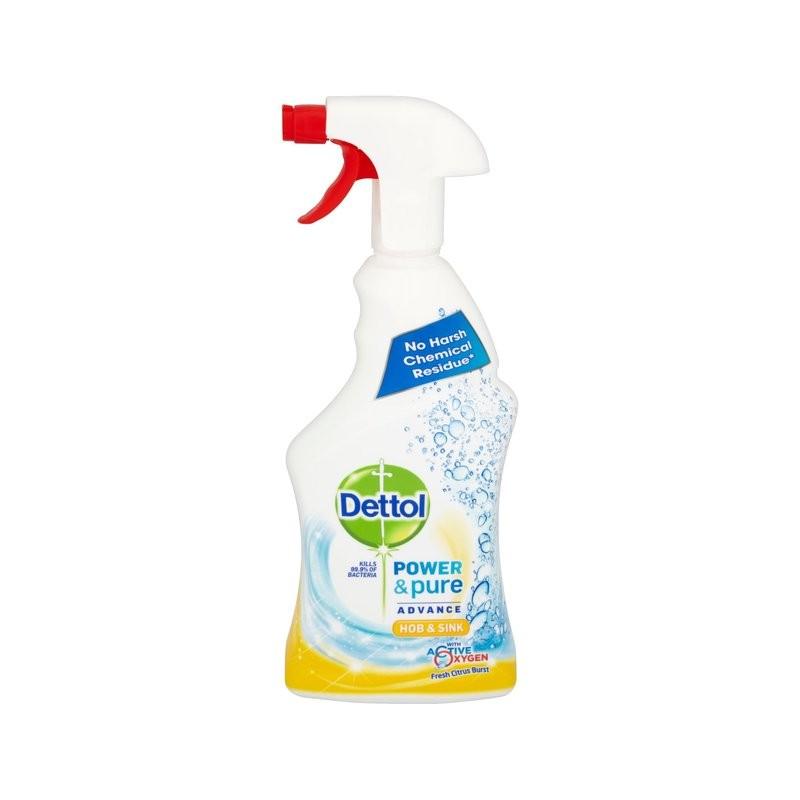 Dettol Power & Pure Citrus Hob & Sink Cleaner Spray