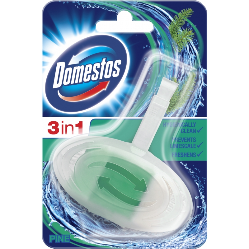 Domestos 3in1 Toiletblok Pine
