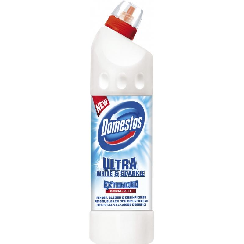 Domestos Gelreiniger Ultra White & Sparkle