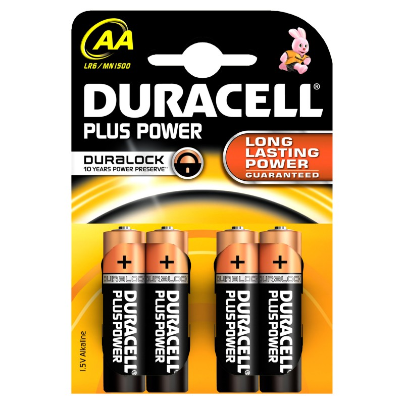 Duracell AA Duralock Plus Power