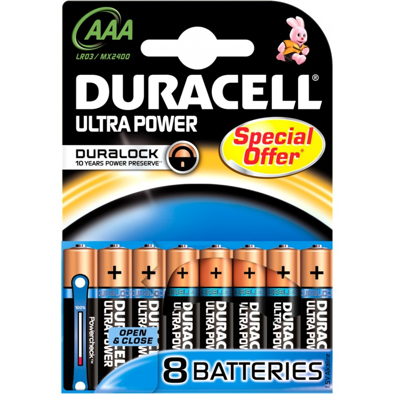 Duracell AAA Duralock Ultra