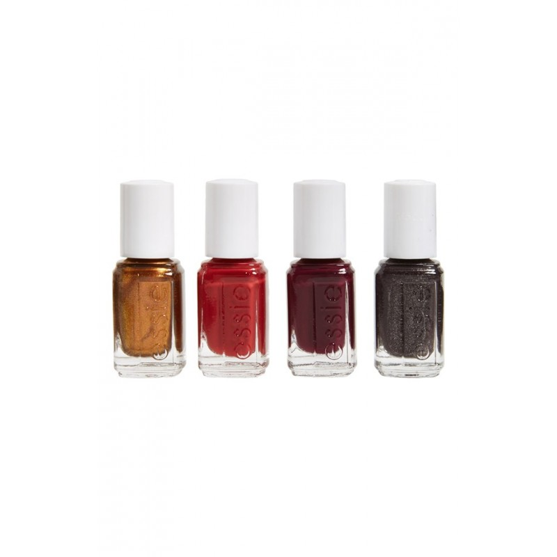Essie Nail Polish 4 Piece Set Fall Collection 4 x 5 ml - £10.75