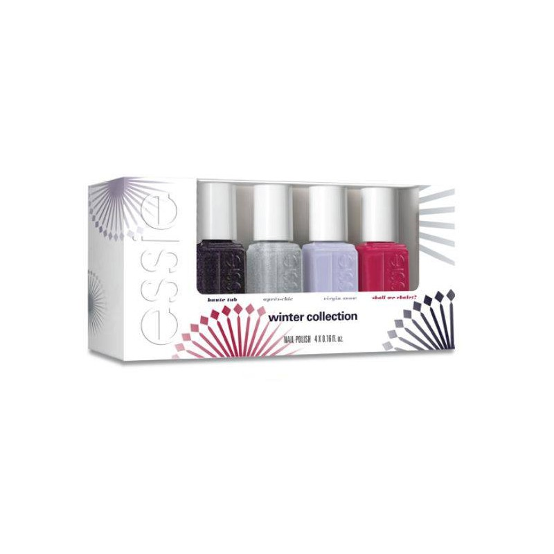 Essie Nail Polish 4 Piece Set Winter Collection 4 x 5 ml - £10.75