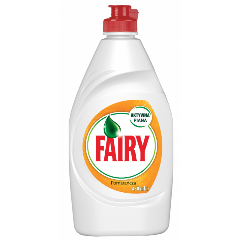 Fairy Orange Dishwashing Liquid