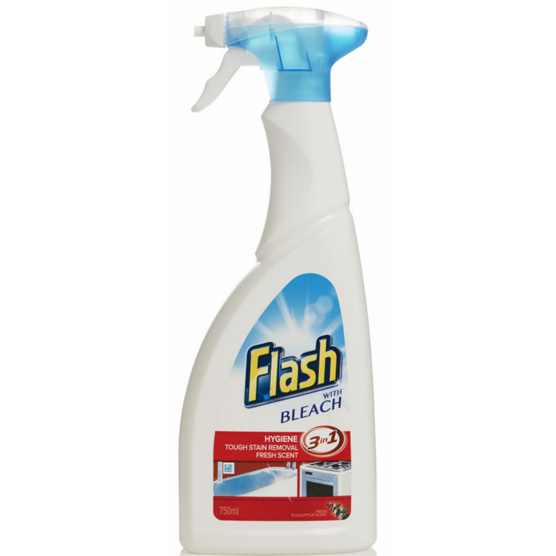 Flash Kitchen Spray With Bleach