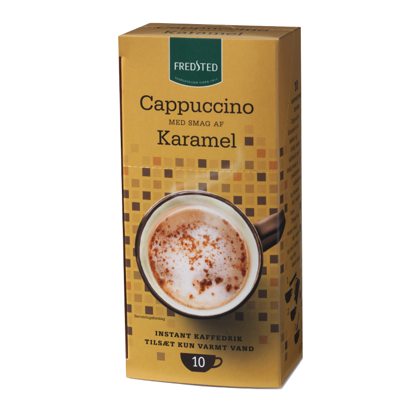 Fredsted Cappuccino Karamelli
