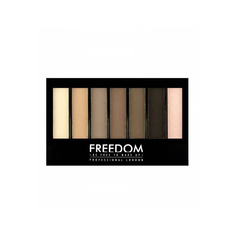 Freedom Makeup Pro Shade & Brighten Eyeshadow Kit Mattes