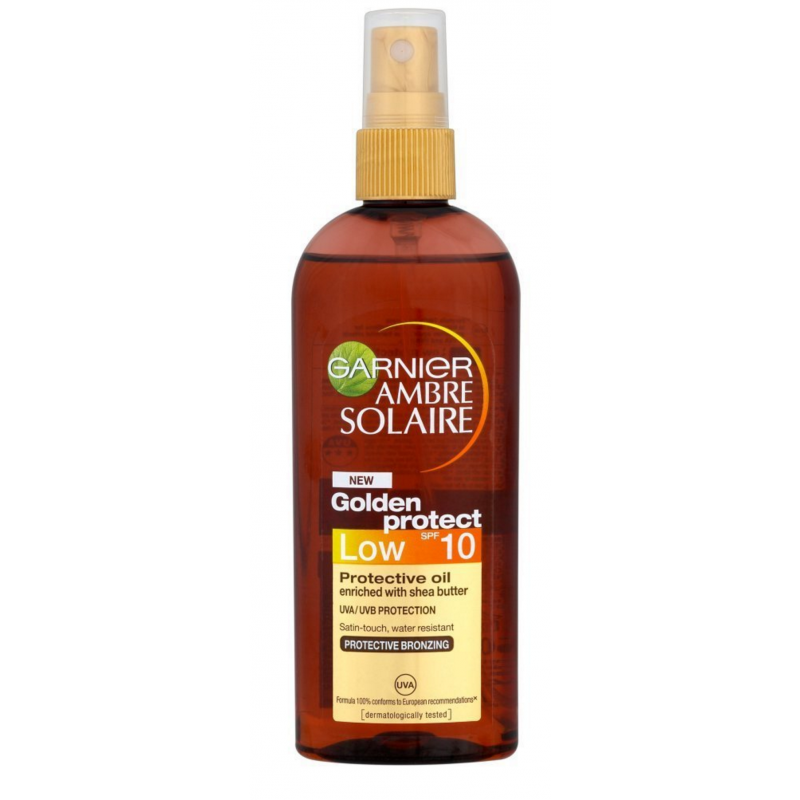 Garnier Ambre Solaire Golden Protective Oil SPF10
