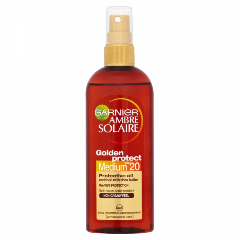 Garnier Ambre Solaire Golden Protective Oil SPF20