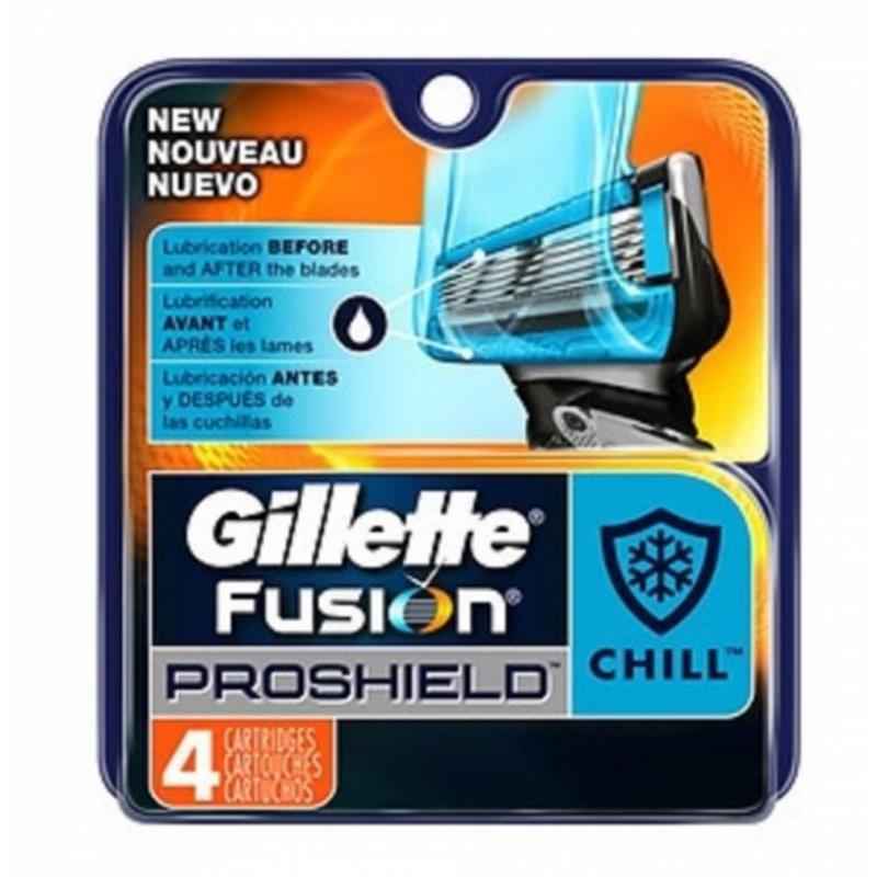 Gillette Fusion Proshield Chill Razorblades