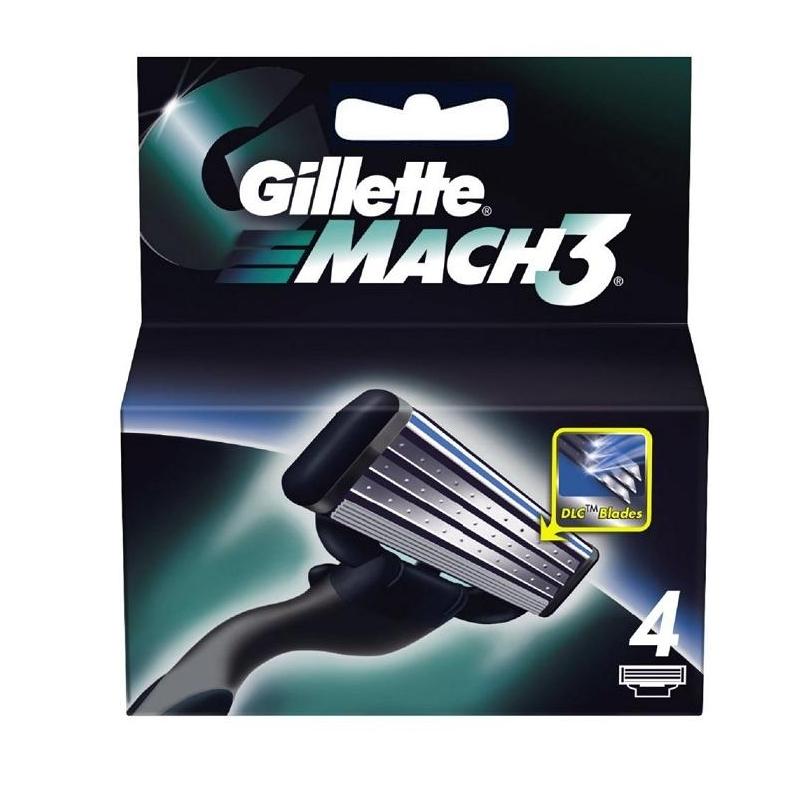 Gillette Mach3 Partaterät