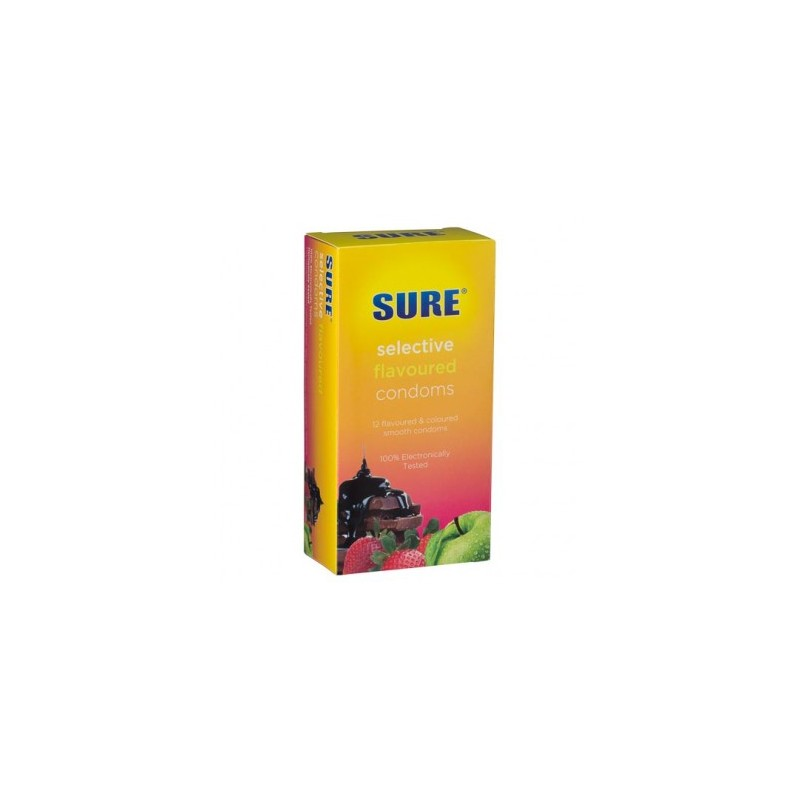 Healthpoint  Sure Flavoured Condoms