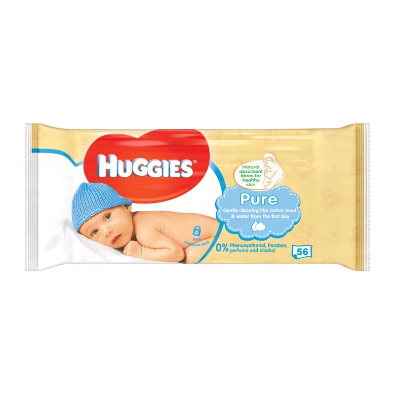 Huggies Baby Wipes Pure