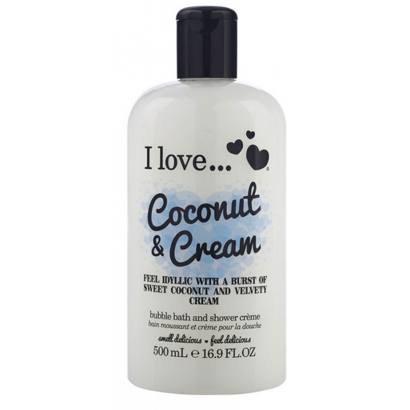 I Love Cosmetics Bath & Shower Creme Coconut & Cream