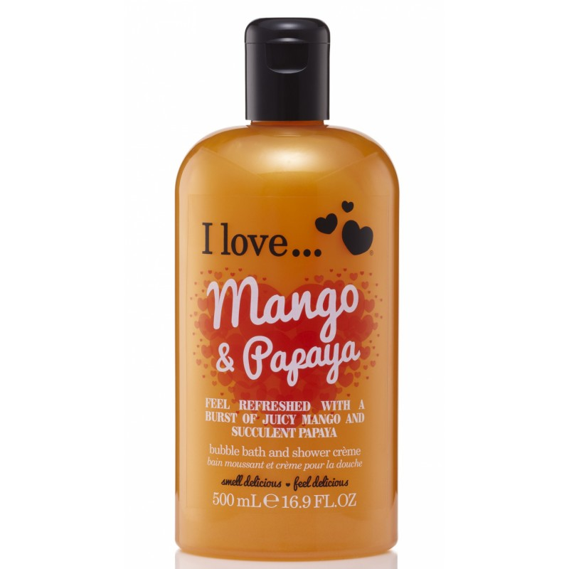 I Love Cosmetics Bath & Shower Creme Mango & Papaya
