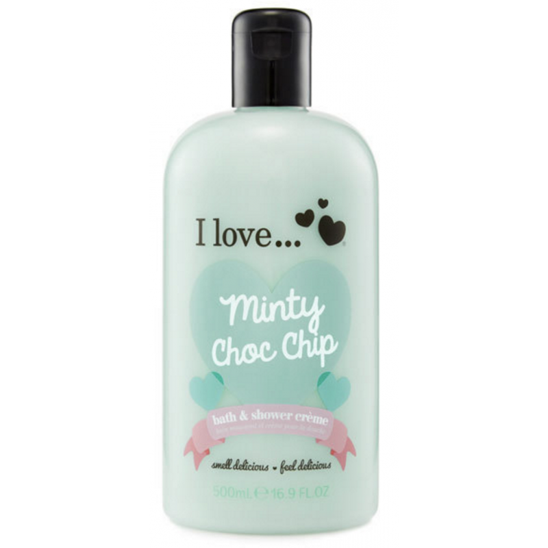 I Love Cosmetics Bath & Shower Creme Minty Choc Chip