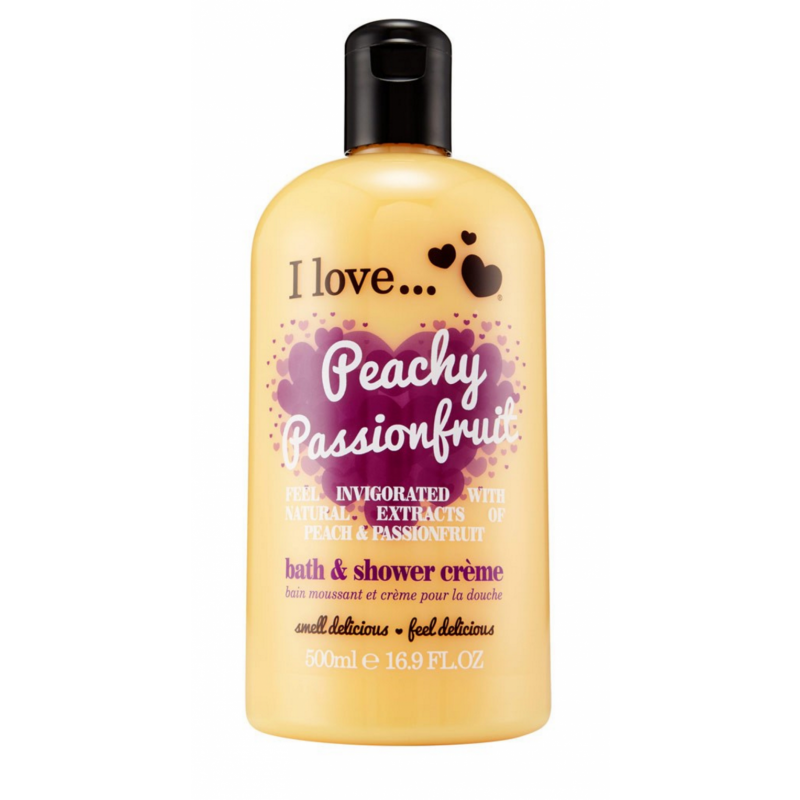 I Love Cosmetics Bath & Shower Creme Peachy Passionfruit
