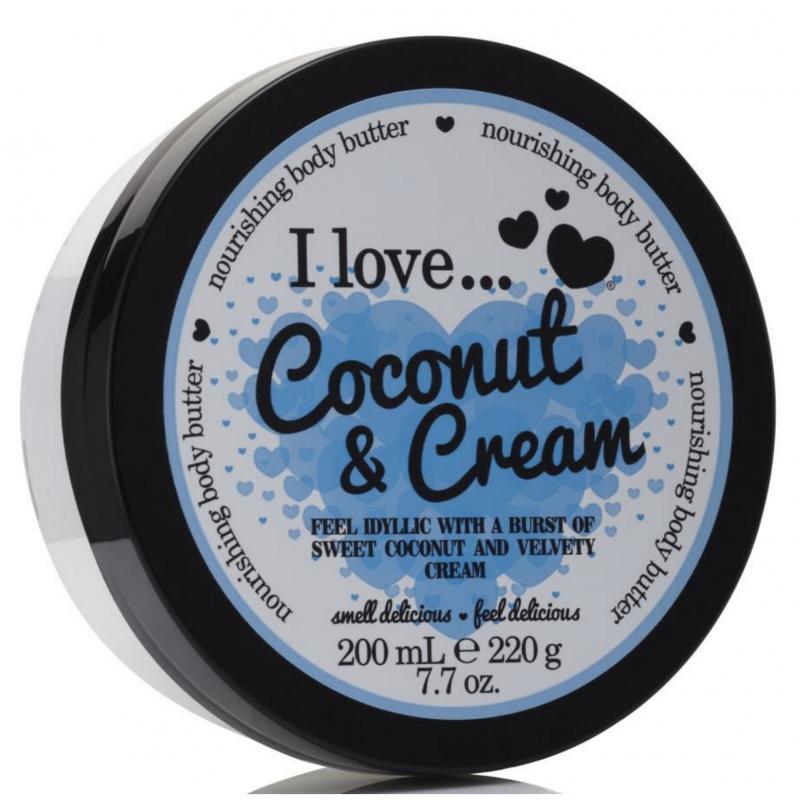 I Love Cosmetics Body Butter Coconut Cream