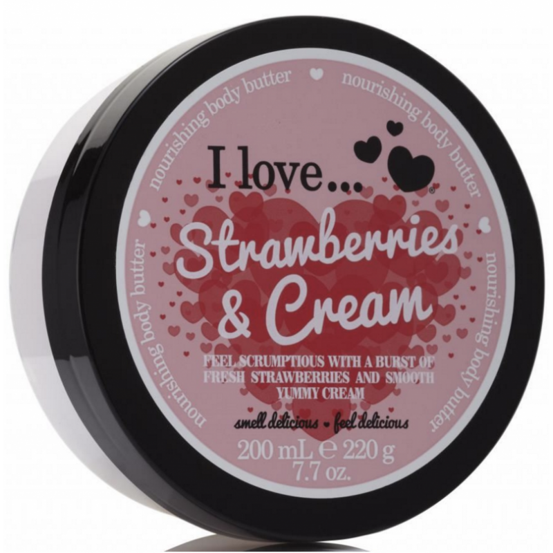 I Love Cosmetics Body Butter Strawberries & Cream