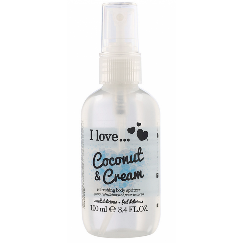 I Love Cosmetics Body Spritzer Coconut & Cream
