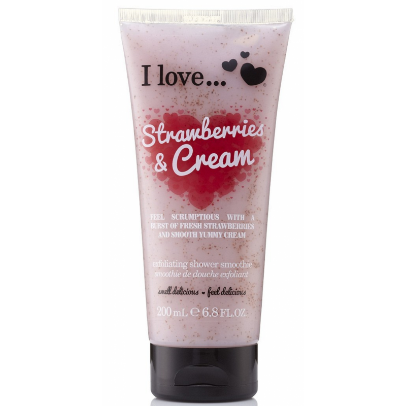 I Love Cosmetics Shower Smoothie Strawberries & Cream