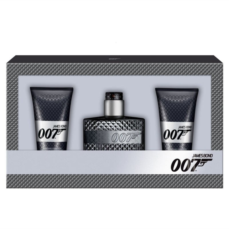 James Bond 007 EDT & 2 x Showergel
