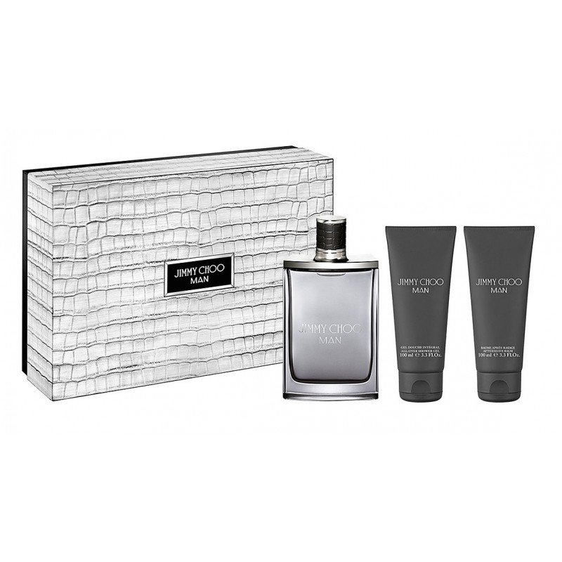 Jimmy Choo Man EDT + Aftershave Balm + Showergel