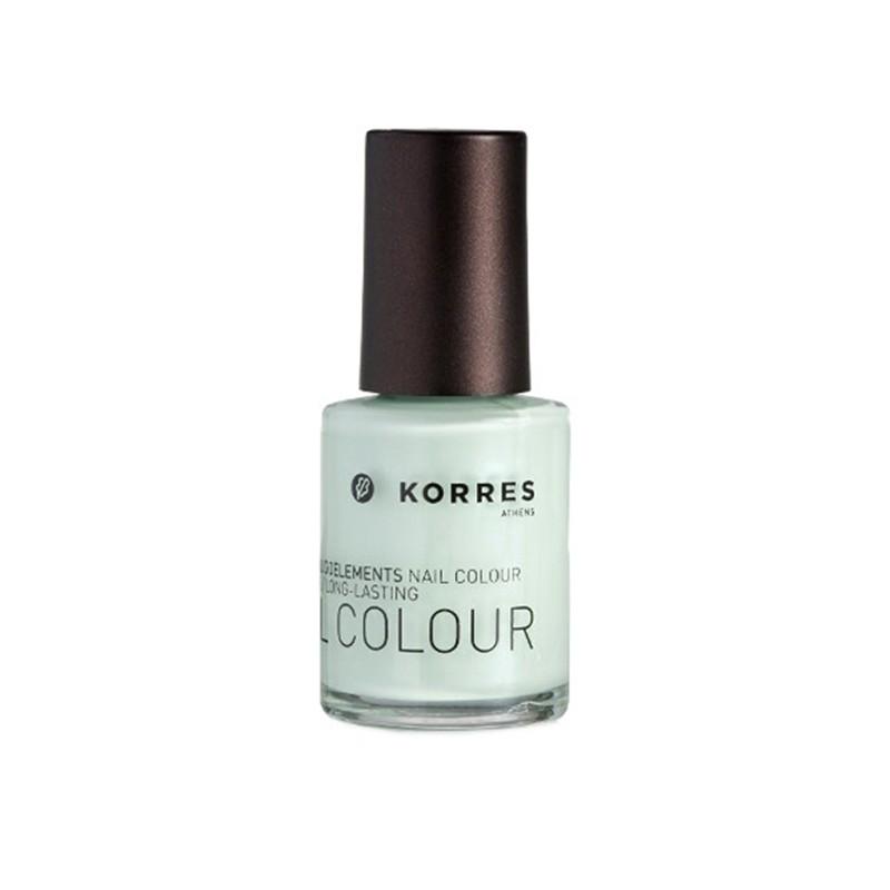 Korres Nail Polish Colour 35 Bright Mint 10 ml - £2.25