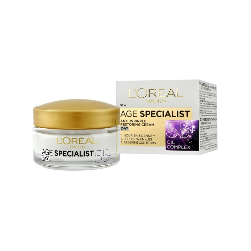 L'Oreal Age Specialist 55+ Anti-Wrinkle Day Cream
