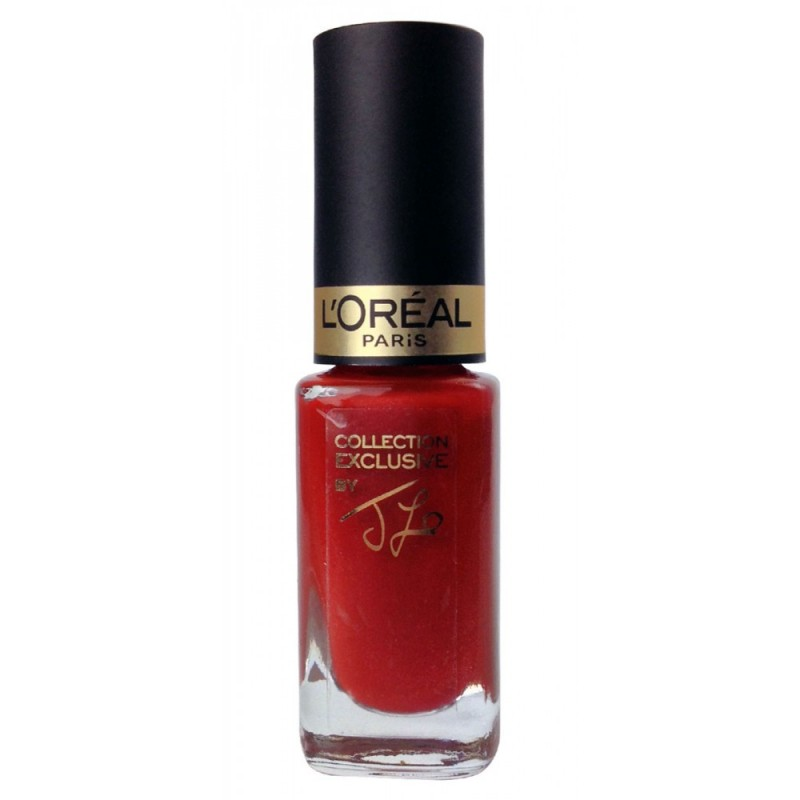 L'Oreal Color Riche Exclusive Collection Nailpolish Pure Red By J.Lo