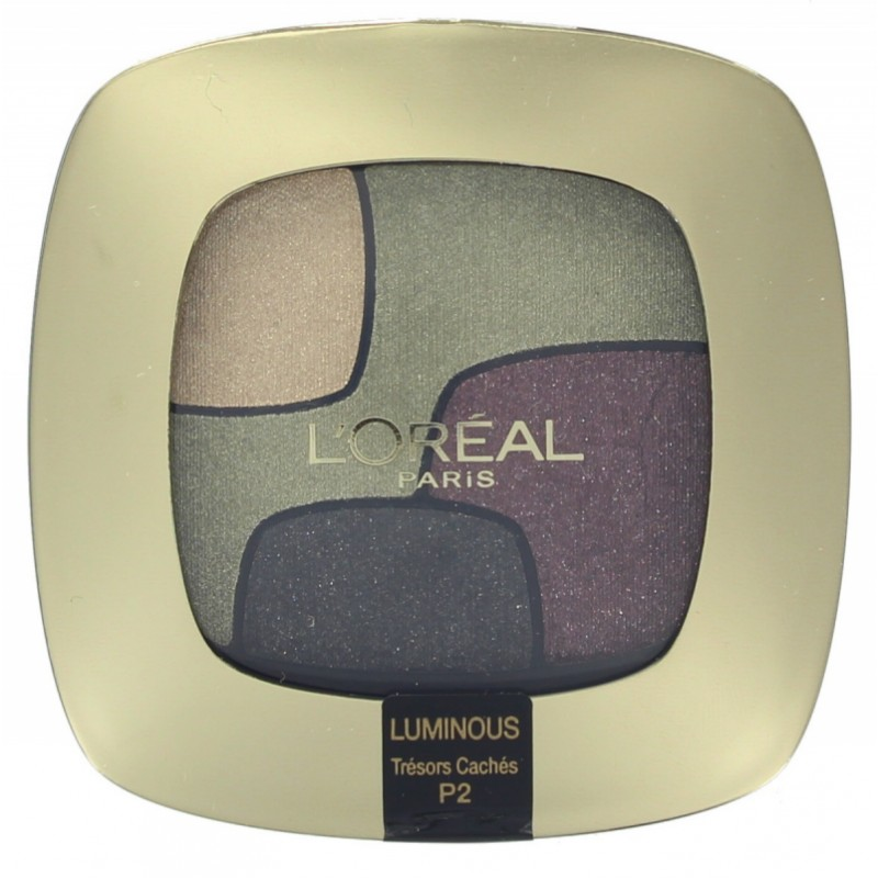 L'Oreal Color Riche Quad Eyeshadow P2 Tresors Caches