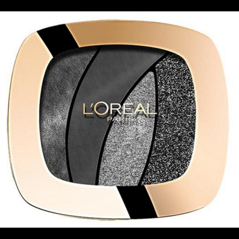 L'Oreal Color Riche Quad Eyeshadow S13 Magnetic Black