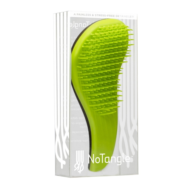Macadamia No Tangle Brush Green