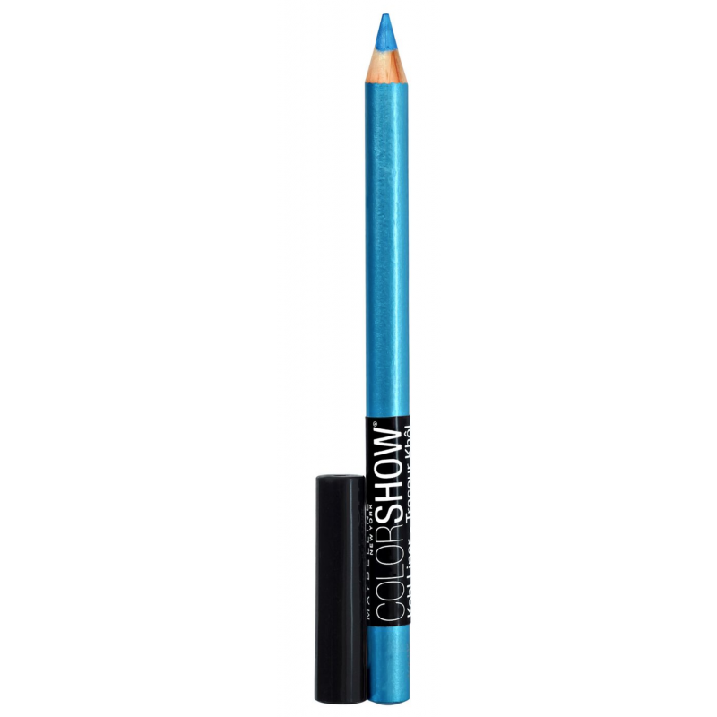 maybelline color show crayon kohl 210 turquoise flash 5 g 0 95