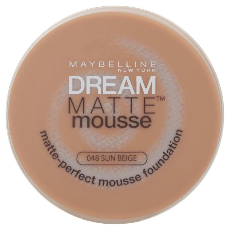 Maybelline Dream Matte Mousse Foundation 048 Sun Beige