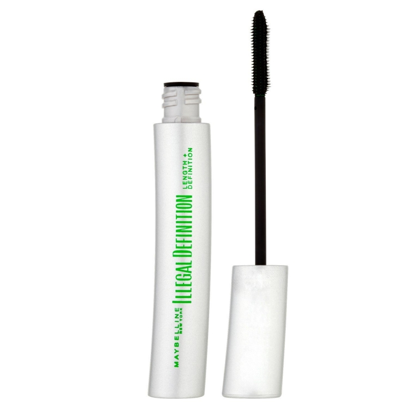 Maybelline Illegal Length + Definition Mascara Glossy Black