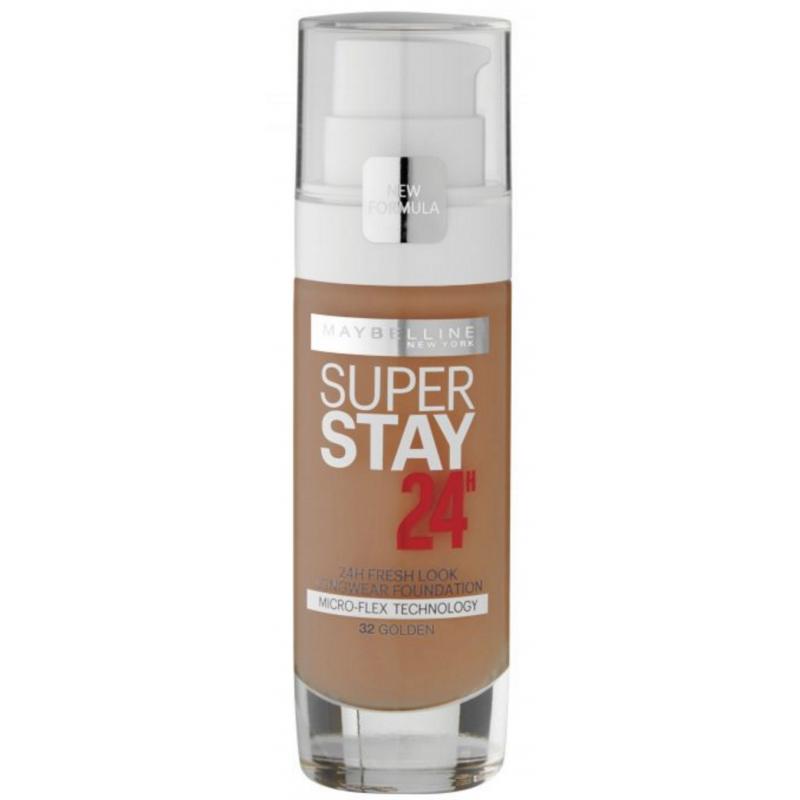 Maybelline Superstay 24H Foundation 32 Golden