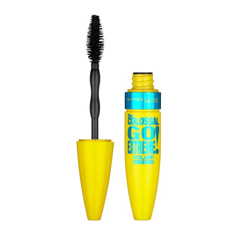 Maybelline The Colossal Go Extreme Volum' Waterproof Mascara Black